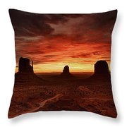 Sunset 11 Throw Pillow