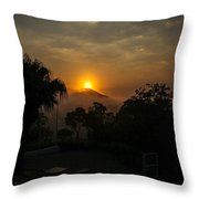 Sunset-1 Throw Pillow by Fabio Giannini