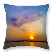 Sunset 1 Throw Pillow