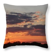 Sunset -2013-09-21 Throw Pillow