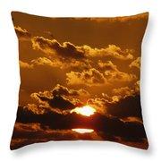Sunset 5 Throw Pillow