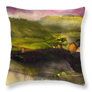 Sunset 50 Throw Pillow