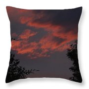 Sunset After The Storm Throw Pillow