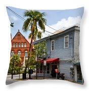Sunset And Whitehead Throw Pillow