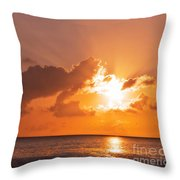 Sunset Throw Pillow by Angela Doelling AD DESIGN Photo and PhotoArt