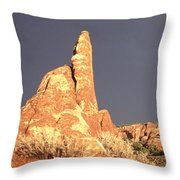 Sunset  Arches National Park Throw Pillow
