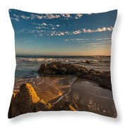 Sunset At Crystal Cove 12 Throw Pillow
