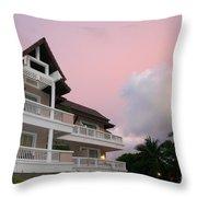 Sunset At Grand Laguna Throw Pillow