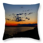 Sunset At Nathan Hale Throw Pillow