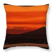 Sunset At Noosa Heads Throw Pillow