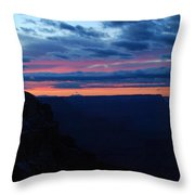 Sunset At The Grand Canyon Throw Pillow