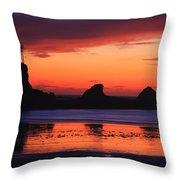 Sunset Bay Sunset 2 Throw Pillow