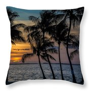Sunset Breeze Throw Pillow