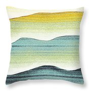 Sunset Throw Pillow by Brenda Bryant