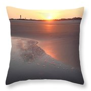 Sunset By Jan Marvin Throw Pillow