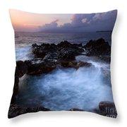Sunset Churn Throw Pillow