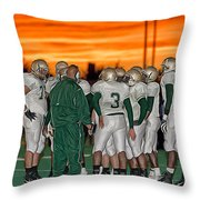 Sunset Conference Throw Pillow
