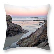 Sunset  Denhams Beach. Throw Pillow
