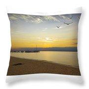 Sunset Fantasy  Throw Pillow