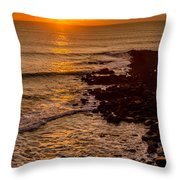 Sunset Far Away Throw Pillow