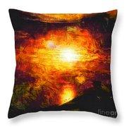 Sunset Glory Throw Pillow