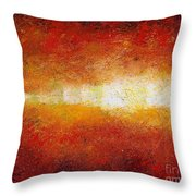 Sunset Glow Throw Pillow