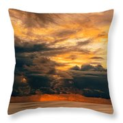 Sunset Grandeur Throw Pillow