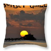 Sunset Grill Don Henley 1984 Throw Pillow