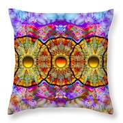 Sunset Grove Throw Pillow