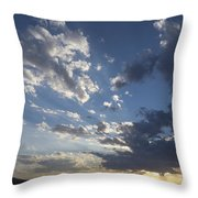 Sunset In New Mexico Throw Pillow