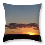 Sunset In Pennsylvania  Throw Pillow