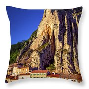 Sunset In Provence Throw Pillow by Elena Elisseeva