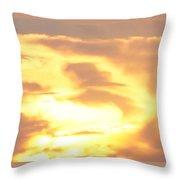 Sunset Jesus Throw Pillow