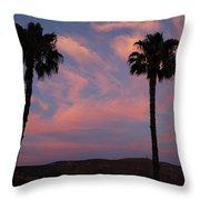 Sunset Landscape Xi Throw Pillow
