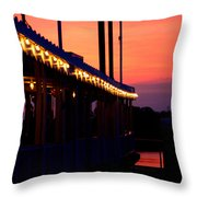 Sunset Lights  Throw Pillow