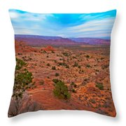 Sunset Near Page Throw Pillow
