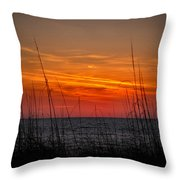 Sunset Number One Throw Pillow