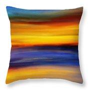 Sunset Of Light Throw Pillow