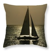 Sunset On Martha's Vineyard Throw Pillow