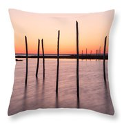 Sunset On The Bay I Throw Pillow