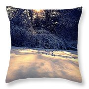 Sunset On The Briar Patch Throw Pillow