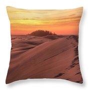 Sunset On The Ridge Throw Pillow