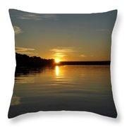 Sunset On The Zambezi 2 Throw Pillow
