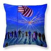 Sunset Or Sunrise Throw Pillow