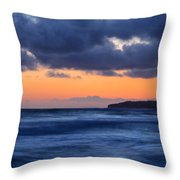 Sunset Over Dana Point Throw Pillow