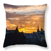 Sunset Over Old Moscow - Featured 2 Throw Pillow
