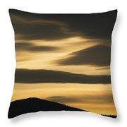 Sunset Painted Hills John Day Nm Oregon Throw Pillow