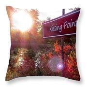 Sunset Rendezvous Throw Pillow