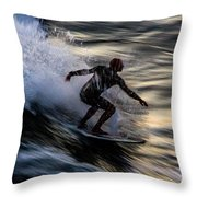 Sunset Ride 2 Throw Pillow