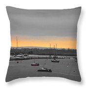 Sunset Romance Throw Pillow